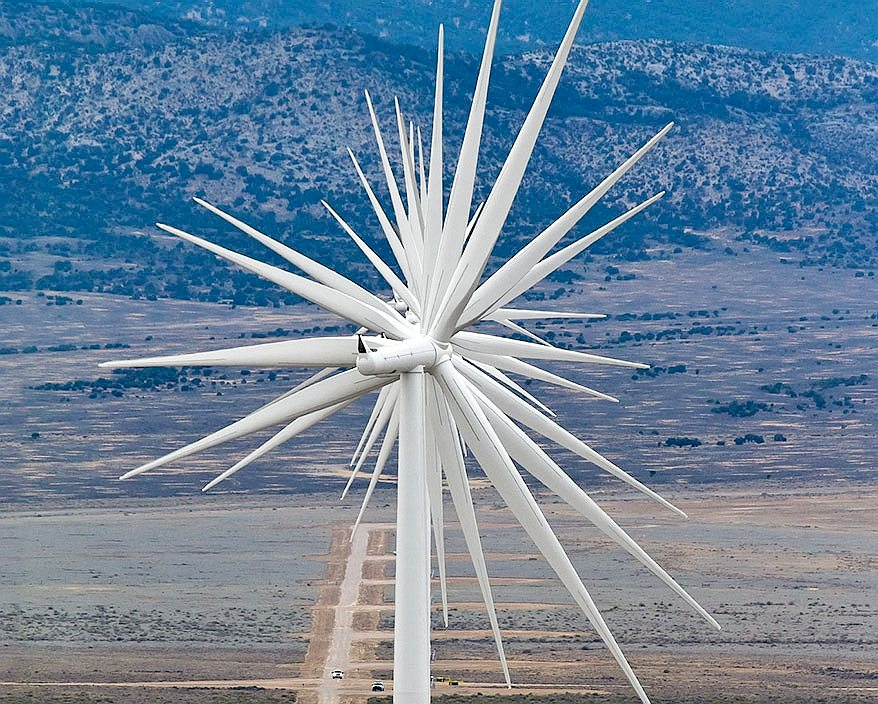 Renewable energy from the sun and wind